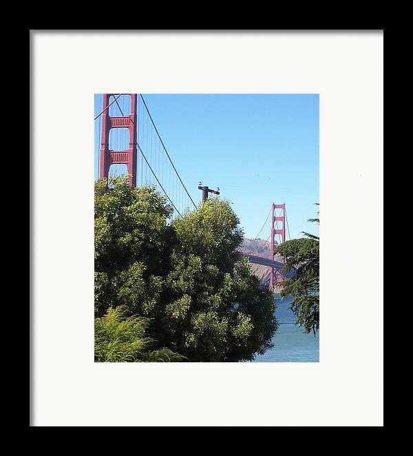Golden Gate Bridge Framed Print featuring the photograph Golden Gate by Elizabeth Klecker