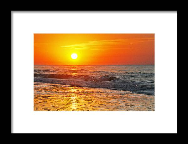 Sky Framed Print featuring the photograph Golden Glory by Kay Lovingood