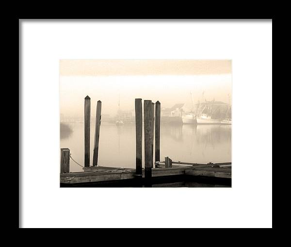 Cape Fear River Framed Print featuring the photograph Golden Mornings by Paul Boroznoff