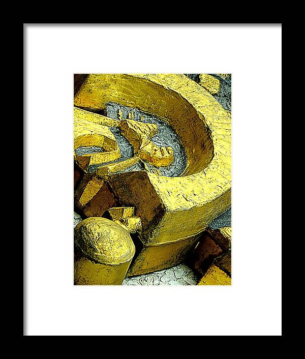 Art Photography Framed Print featuring the photograph Golden Musselburgh IIi by Nicola Graham
