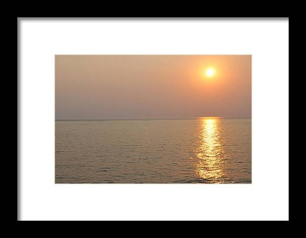 Landscape Framed Print featuring the photograph Golden Sunrise by Bill Perry