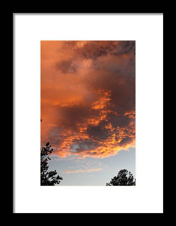 Sunsets Framed Print featuring the photograph Golden Vista by Gary Kaylor