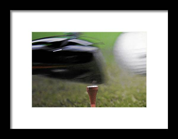 Golf Framed Print featuring the photograph Golf Sport Or Game by Christine Till