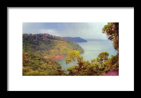 Joan Carroll Framed Print featuring the photograph Golfo Dulce Costa Rica by Joan Carroll
