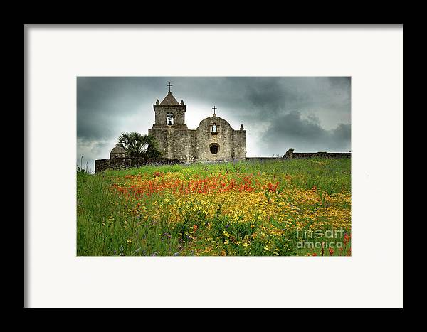 Landscape Framed Print featuring the photograph Goliad In Spring by Jon Holiday