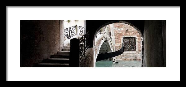 Venice Framed Print featuring the photograph Gondola Da Ivo by Marco Missiaja