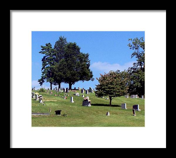 Nature Framed Print featuring the photograph Gone But Not Forgotten by Chad Evans
