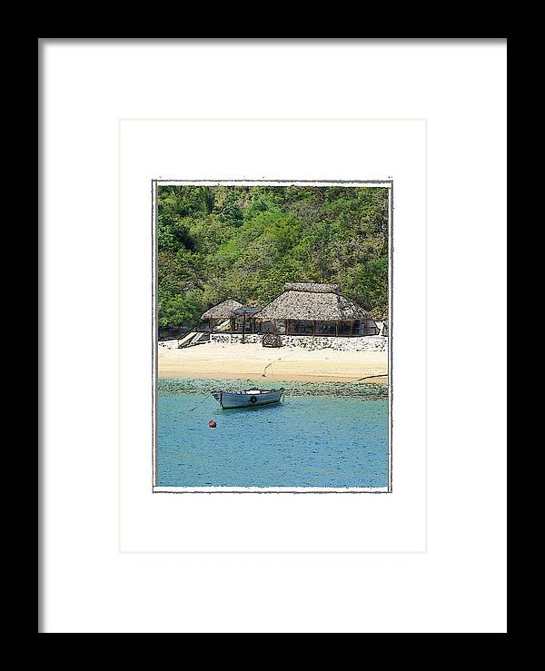 Seascape Framed Print featuring the photograph Gone Coastal by Robert Boyette