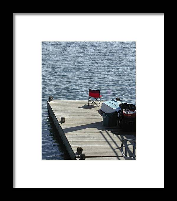 Fishing Framed Print featuring the photograph Gone Fishing by Faith Harron Boudreau