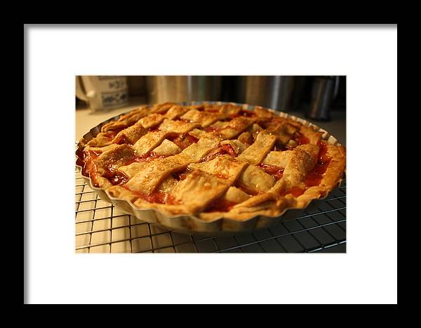 Pie Framed Print featuring the photograph Good Day For Pie by Annie Babineau