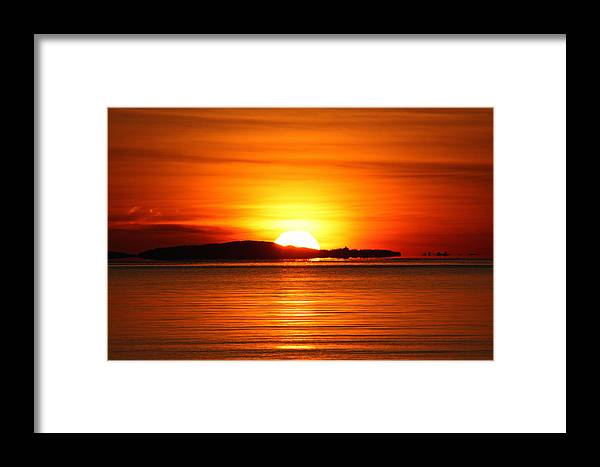Sunrise Framed Print featuring the photograph Good Morning by Becca Brann