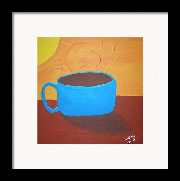 Good Morning Sunshine Framed Print featuring the painting Good Morning Sunshine by Beth Cornell