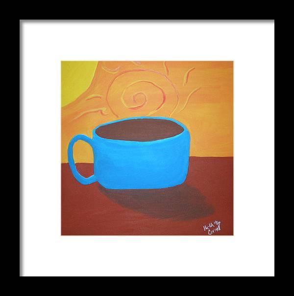 Good Morning Sunshine Framed Print featuring the painting Good Morning Sunshine by Beth Cornell