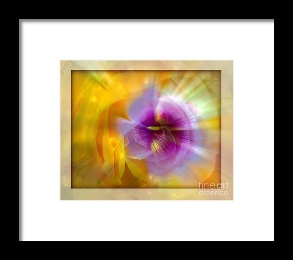 Flower Framed Print featuring the photograph Good Morning Sunshine by Chuck Brittenham