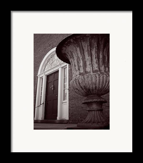 Gore Estate Framed Print featuring the photograph Gore Up Close by Heather Weikel