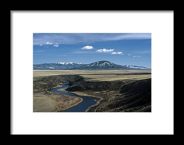Landscape Framed Print featuring the photograph Gorge Beginning by Lynard Stroud
