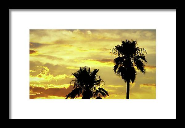 Sun Framed Print featuring the photograph Got To Love Monsoons by Elaine Malott