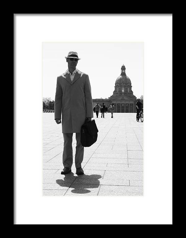 Street Photography Framed Print featuring the photograph Governed Notes by The Artist Project