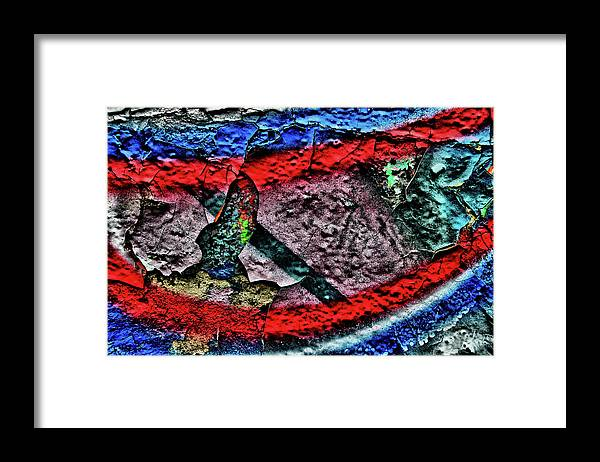 Graffiti Framed Print featuring the photograph Graffiti Composition #20170328-01 by Wayne Higgs