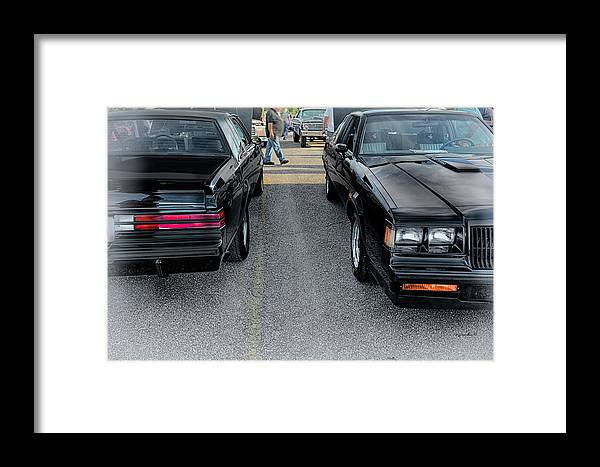 Car Cruise Framed Print featuring the photograph Gran National Twins _ Hdr by Michael Rankin