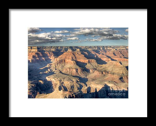 Clarence Holmes Framed Print featuring the photograph Grand Canyon Hopi Point by Clarence Holmes
