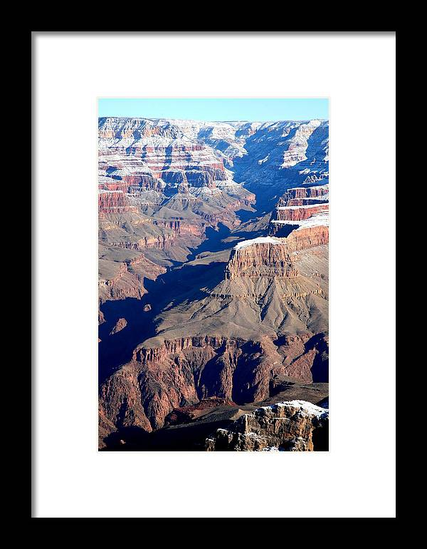 Landscape Framed Print featuring the photograph Grand Canyon by Jennilyn Benedicto