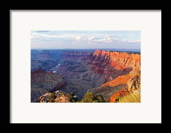 Horizontal Framed Print featuring the photograph Grand Canyon National Park, Arizona by Javier Hueso