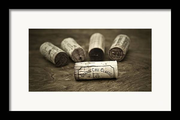 Wine Framed Print featuring the photograph Grand Cru Classe by Frank Tschakert