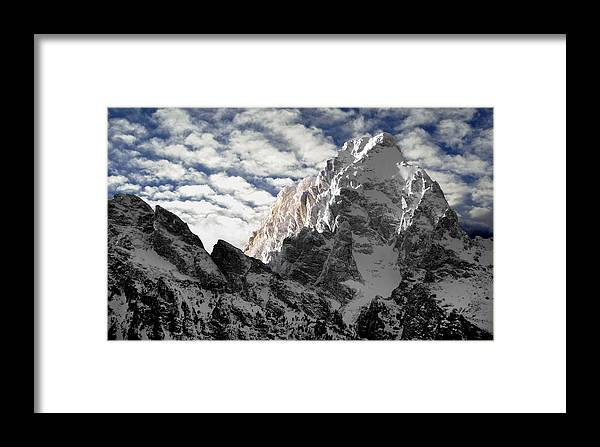 Landscape Framed Print featuring the photograph Grand by Karl Manteuffel
