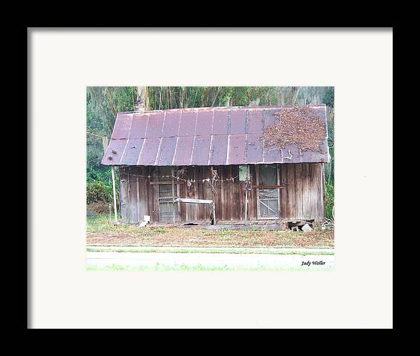 Old Framed Print featuring the photograph Grandma by Judy Waller