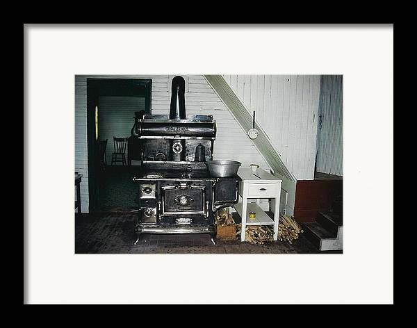 Oldtimers Framed Print featuring the photograph Grandma's Kitchen by Shirley Sirois