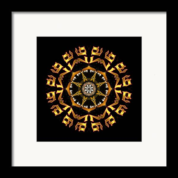 Framed Print featuring the photograph Graphic Number Three by Roger Soule