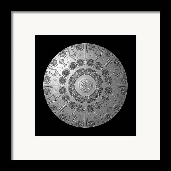 Shield Framed Print featuring the photograph Graphic Number Two by Roger Soule
