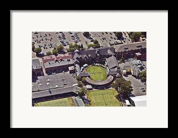 Tennis Hall Of Fame 194 Bellevue Ave Newport Ri 02840-3586 Framed Print featuring the photograph Grass Tennis Hall Of Fame 194 Bellevue Ave Newport Ri 02840 3586 by Duncan Pearson