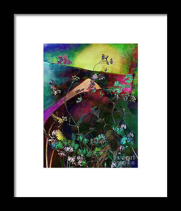 Wild Framed Print featuring the mixed media Grassland Series No. 6 by Vinson Krehbiel