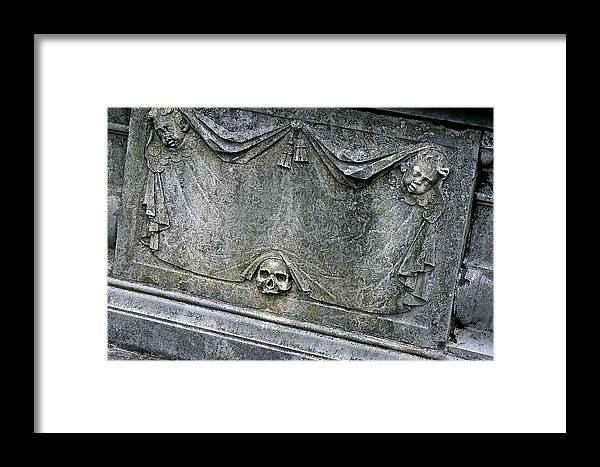 Grave Framed Print featuring the photograph Grave Business by Robert Joseph