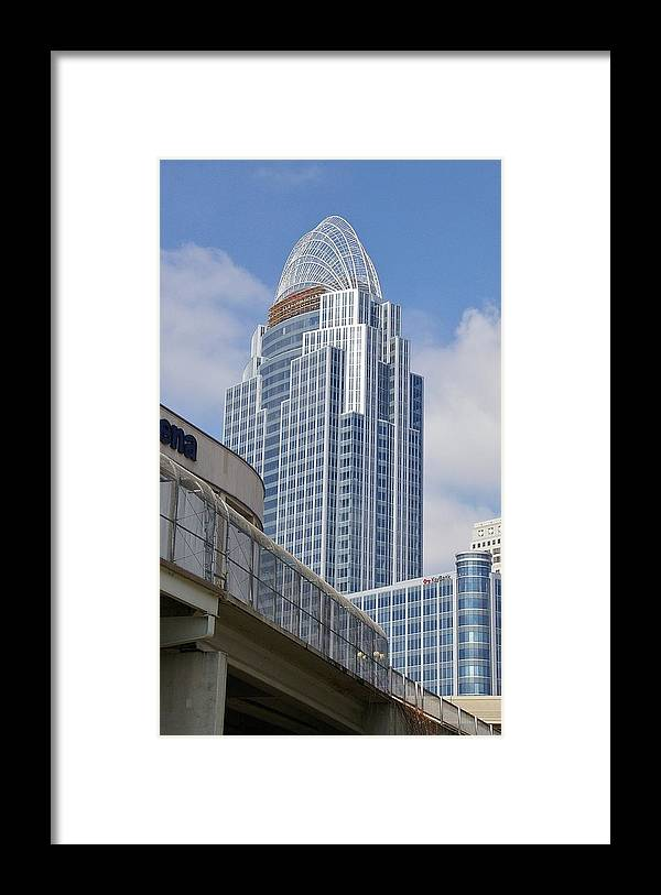 Great American Framed Print featuring the photograph Great American Insurance Building by Terri LeSaint-Keller