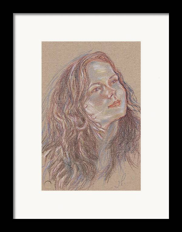 Portrait Framed Print featuring the painting Great C Major by Horacio Prada