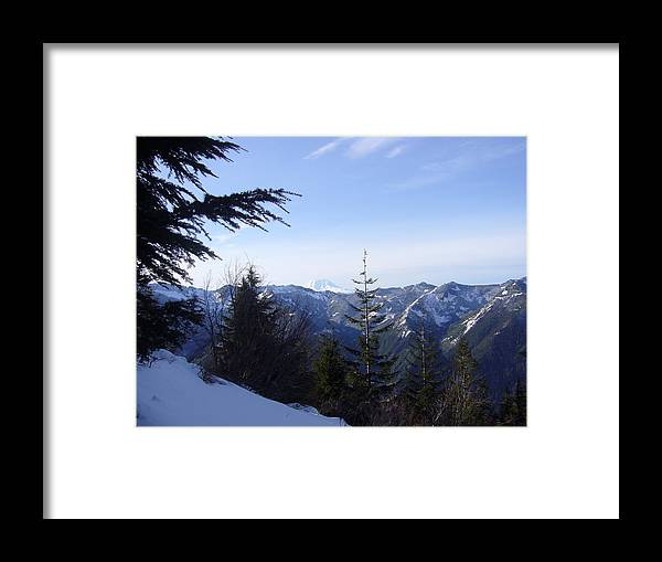 Landscape Framed Print featuring the photograph Great Northwest by Mark Camp