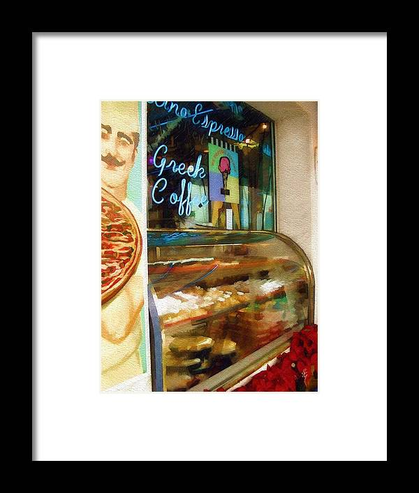 Greek Framed Print featuring the photograph Greek Coffee by Sandy MacGowan