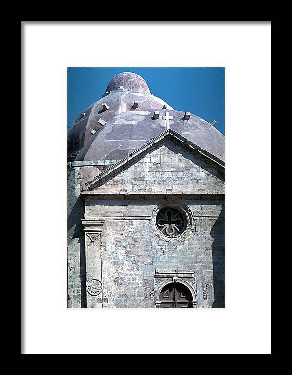 Greek Orthodox Church Framed Print featuring the photograph Greek Orthodox Church by Flavia Westerwelle