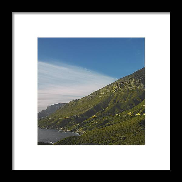 Sunset Framed Print featuring the photograph Green Slope by Michael Filonow