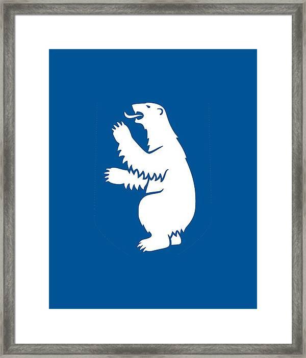 Greenland Coat Of Arms Framed Print By Otis Porritt