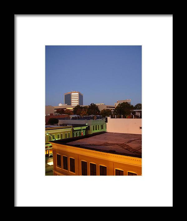 Greenville Framed Print featuring the photograph Greenville by Flavia Westerwelle