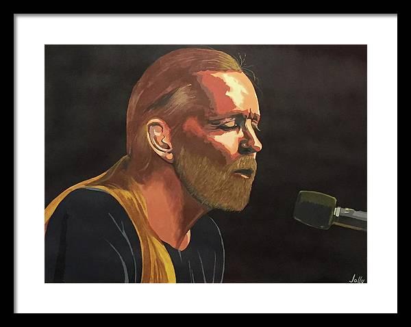 Gregg Allman by Ken Jolly