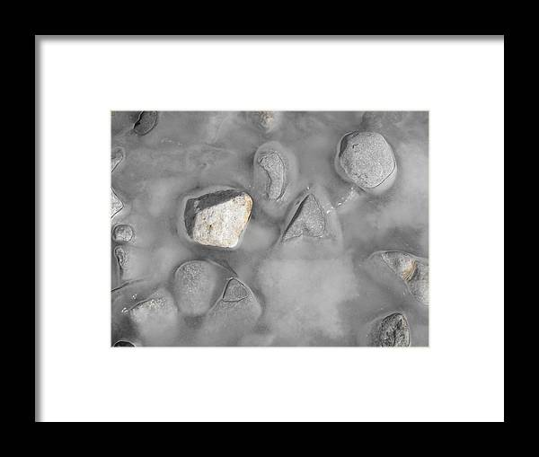 Landscape Framed Print featuring the photograph Grey And White And Grey by john Kuti