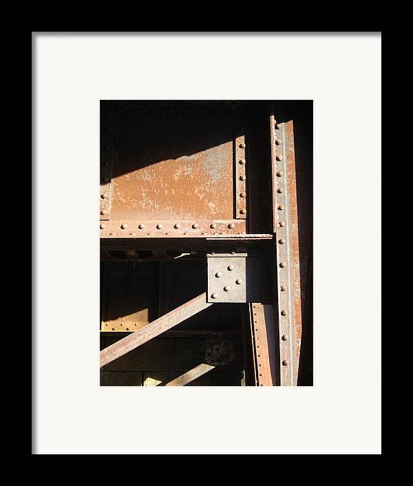 Architectural Framed Print featuring the photograph Grey Square by Dean Corbin