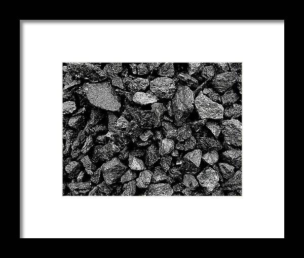 Stones Framed Print featuring the photograph Grey Stones by Colin Drysdale
