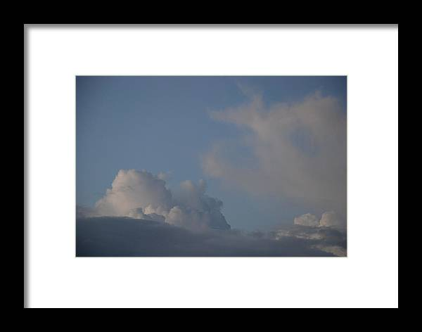 Clouds Framed Print featuring the photograph Greyskys by Rob Hans