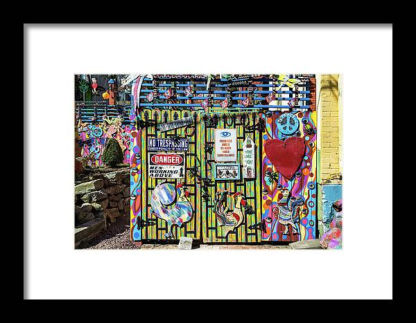 Pennsylvania Framed Print featuring the photograph Groovy Signs by Stewart Helberg